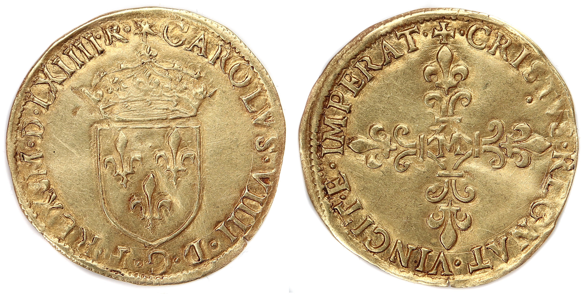 CHARLES IXECU OR 1564 TOULOUSE